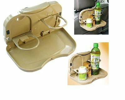 Travel Dining Tray Car Food Desk Stand Meal Drink Cup Holder Mount 99020510
