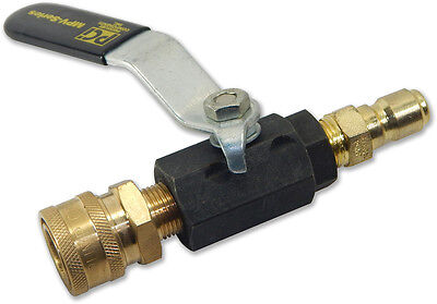 Pressure Washer Ball Valve - Switch Between Accessories Easily - ABV038