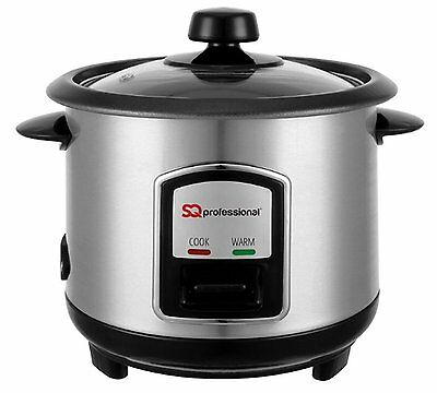 SQ Professional Stainless Steel Rice Cooker 0.8L