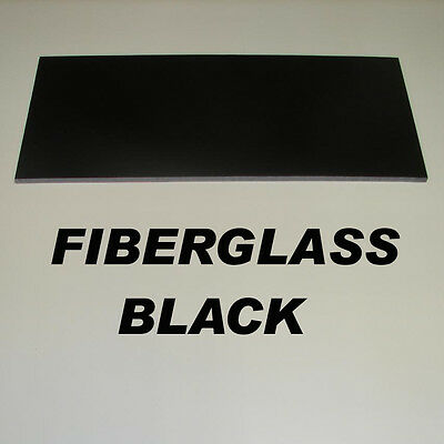 FR4 black fiberglass thickness/ sheetsize selectable replacement for carbon