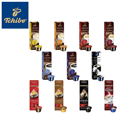 Tchibo Cafissimo Collection Mix 110 Kapseln inkl. Eduscho Probier Box