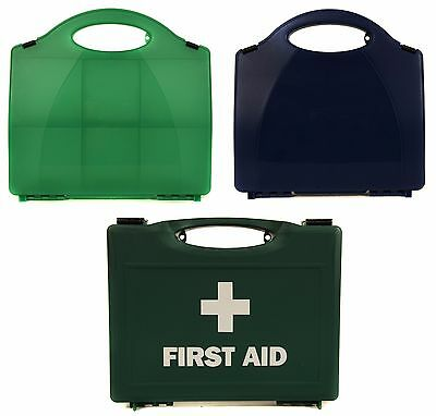 Qualicare Empty First Aid Kit Box - Green, Blue, 1-10/20/50 Person - Boxes, Case