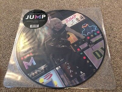"Madonna ""Jump"" 12"" vinyl single picture disc stickered sleeve 2006 Excellent+"