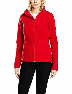 Stedman Apparel - Active Fleece Jacket/ST5100, Felpa donna, Rot - Scarlet (F6T)