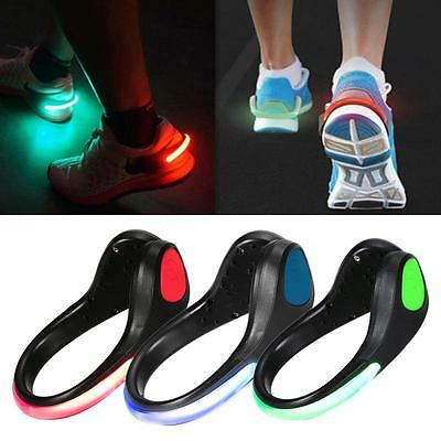 LED Shoes Cycling Clip Bike Lights Night Safety Warning Flash Light for running