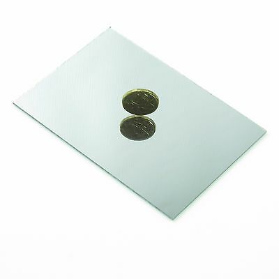 1 x Shower Bathroom Mirror 10x14cm Self Adhesive Stick on and Shatter Proof