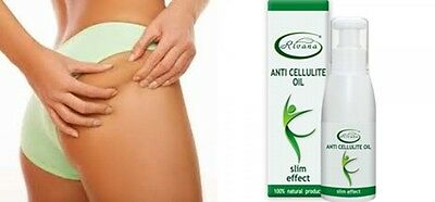 Rivana Anti-Cellulite Oil 100% Natural Product With Slim Effect 100ml