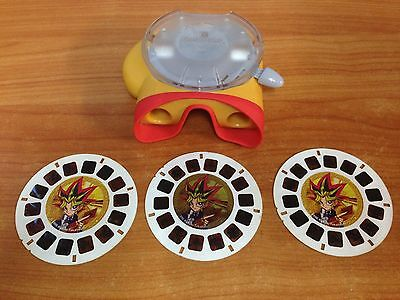 Fisher Price View-Master & 3 Reel Pack - Yu-Gi-Oh