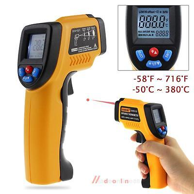 GM320 Non-Contact LCD Laser IR Infrared Digital C/F Temperature Thermometer Gun