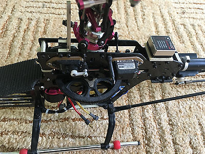 RC Genius Screamer 450 helicopter , parts, similar to trex 450