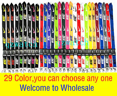 NEW popular logo Lanyard, Keychain, ID Badge, cell phone holder,neck Tag camera