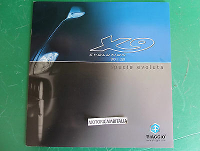 Beverly 500 250 Advertising Piaggio Pubblicita Depliant Brochure Catalogue