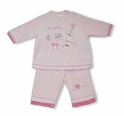 Schnizler My Birthday Party, Completo Unisex - Bimbi 0-24, Rosa, 56 (m9i)