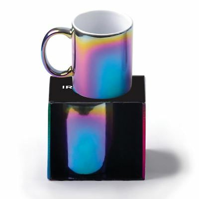 Iridescent Mug Ceramic Kids Girls Coffee Tea Cup by Fizz Creations