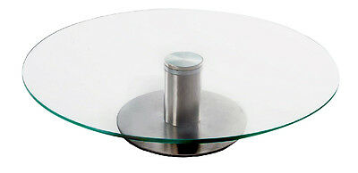 Glass Cake Stand 30 cm Vintage Classic Wedding Round Plate Serving Party Cup