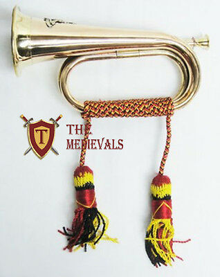 Brass Bugle for military and scout