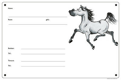 """Box-Sign, Comic sign """" Boaster Grey horse"""" the coolest Box sign in Stable"""