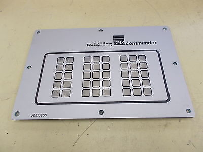 Schelling CMS Commander Key Pad Cover 09973800