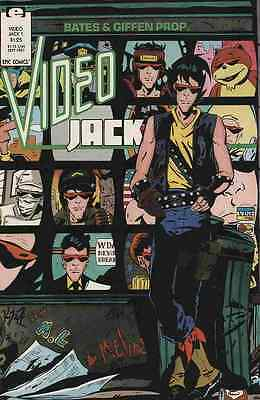 Video Jack (1987) #1   VF/NM