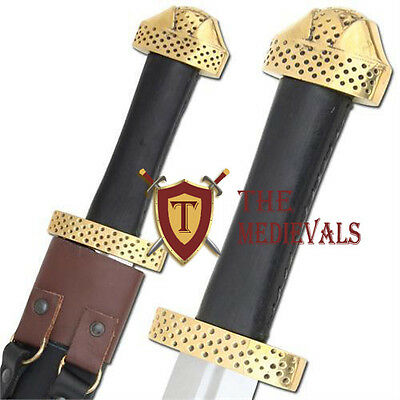 Functional Battle Medeival Viking Sword Replica 9th Century Handmade Steel