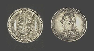 UK. VICTORIA. Silver 6 PENCE 1887. Choice.