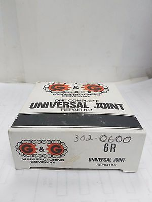 G & G one complete universal joint repair kit 6R Interchange 302-0600
