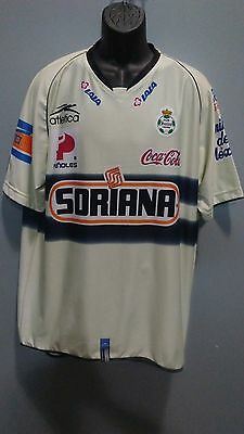 detailed look a21cf 4553e SANTOS LAGUNA USED jersey corona sports authentic LARGE ...
