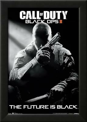 Call Of Duty Black Ops 2 Stealth Video Game Poster Lamina Framed Poster 39 x