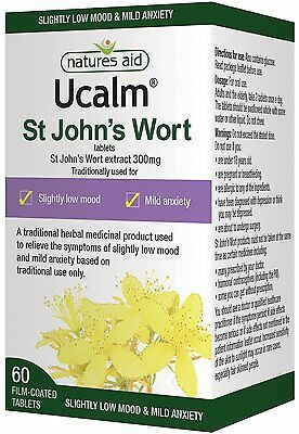 A Natures Aid Ucalm 300mg Pack Equivalent 1500mg-2100mg