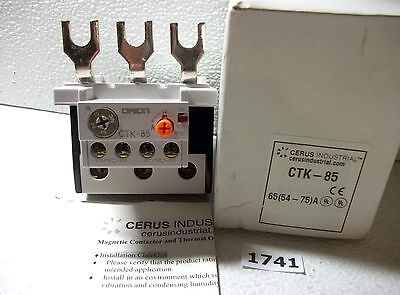 Cerus Industrial CTK-85 Overload Protector 54-75A