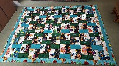 Homemade Quilt-New 68 3/4 x 89 Approx.- FISH