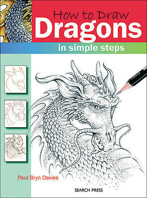 Search Press Books How To Draw Dragons SP-83129