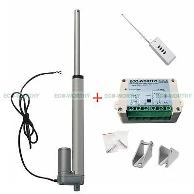 "10"" 150Kg 12V Linear Actuator Electric Motor & Wireless Controller Car,Medical"