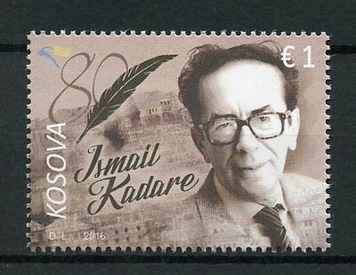 Kosovo 2017 MNH Ismail Kadare 1v Set Writers Literature Stamps