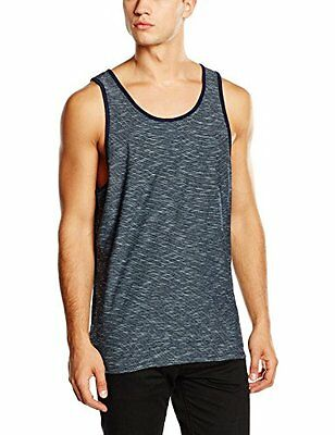 Burton Tank Top Reed, Uomo, Tank Top Reed, Indaco a strisce, XL (M6m)