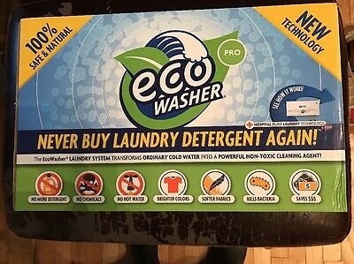 New Eco Washer Pro Eco-Friendly Laundry System 7H-Eco-01 12V 3A 36W