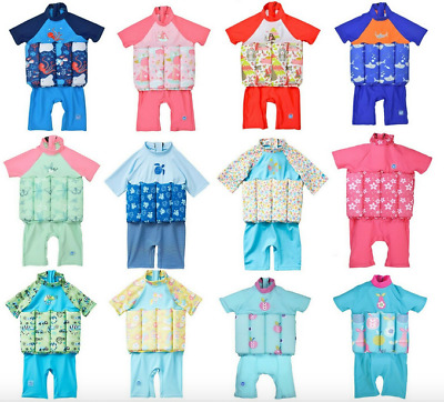 Float Suit Splash About UV Sun Protection ZIP Design Swim Buoyancy Baby toddler