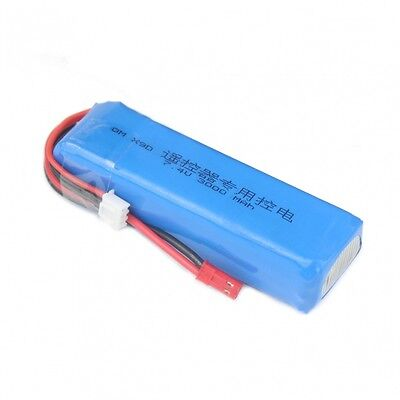 2S 7.4V 3000mAh Upgrade Lipo Battery for Frsky Taranis X9D Plus Transmitter