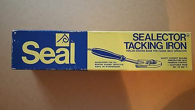 Seal Sealector Heavy-Duty Tacking Iron - Vintage, Made In 1975