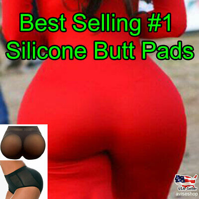 #1 Brief Silicone Pads Butt Enhancer Shaper Panties Buttock Tummy Control Big