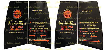 Mills / Evans Constellation Upper Decal Set, FREE Shipping! from Jukebox Arcade