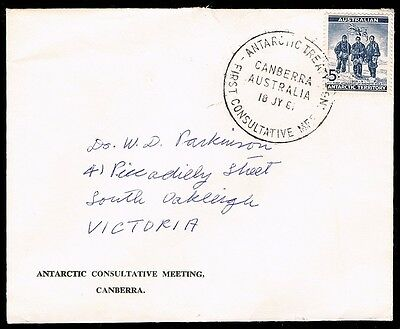 Antarctica • 1961 • ANTARCTIC TREATY FIRST CONSULTATIVE MEETING CANBERRA