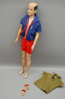 Vintage Ken Bend Bendable Leg With Top And Special Hair!
