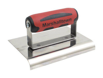 """QLT by Marshalltown CE535S 3"""" X 6"""" Curved End Edger"""
