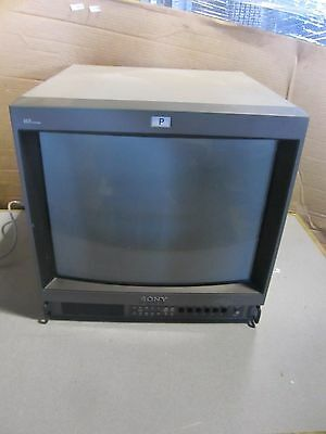 OEM Sony PVM-20M4U Trinitron HD Color Pro Video CRT Monitor Retro Gaming 20M4U