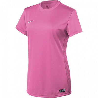 Nike Team Tiempo II Soccer Jersey  Women's Pink T-shirt Size S, M, L 645507-651