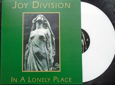 Joy Division - In A Lonely Place - Rare White Vinyl LP - New
