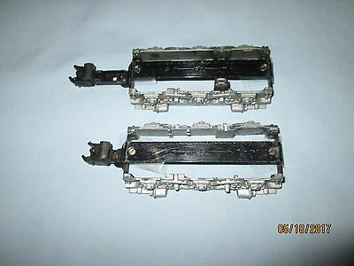 American Flyer Diesel Loco Front & Rear Side Frames w/Pick Up & Knuckle Couplers