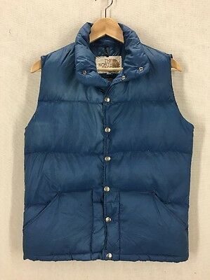 Vintage 80's North Face Brown Tag Puffer Vest Sz XS USA