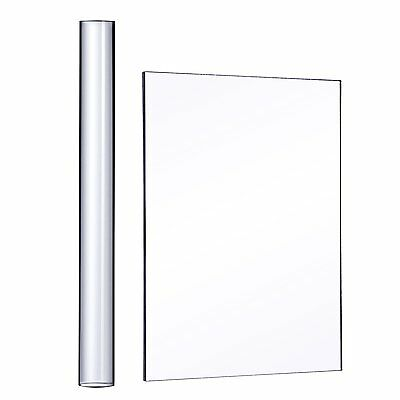Outus Acrylic Clay Roller with Acrylic Sheet Backing Board for Shaping and 2